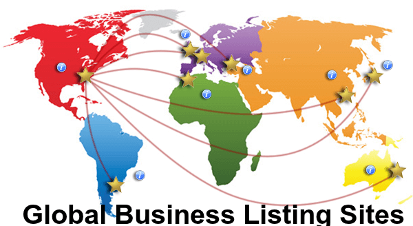 global business listing sites list