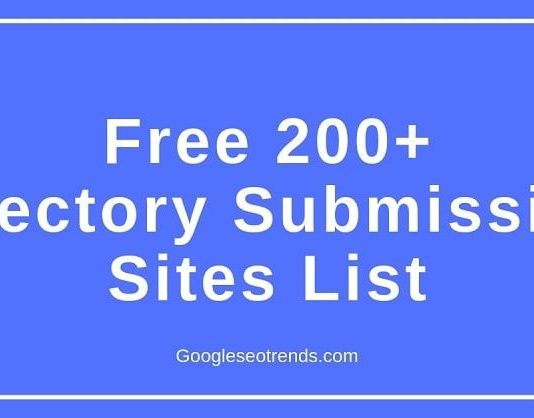 free directory submission sites list