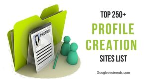 Profile Creation Sites