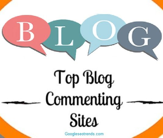Blog Commenting Site List 2018