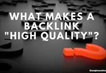 What makes a backlink high quality