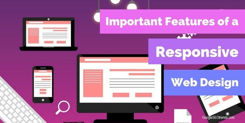 features of a responsive website design