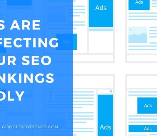 ads affecting seo ranking