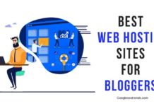 Web Hosting for bloggers