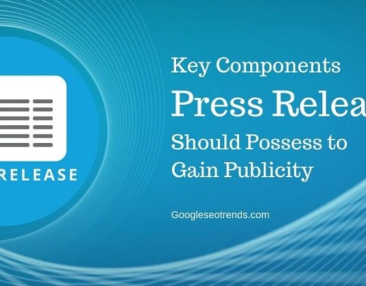 Components of press release