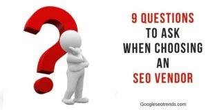 questions for seo vendors