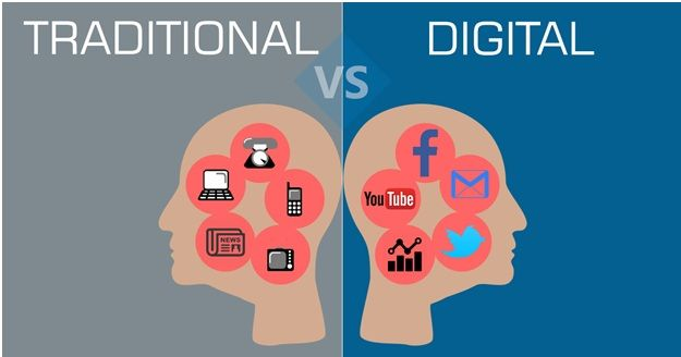 treditional vs digital
